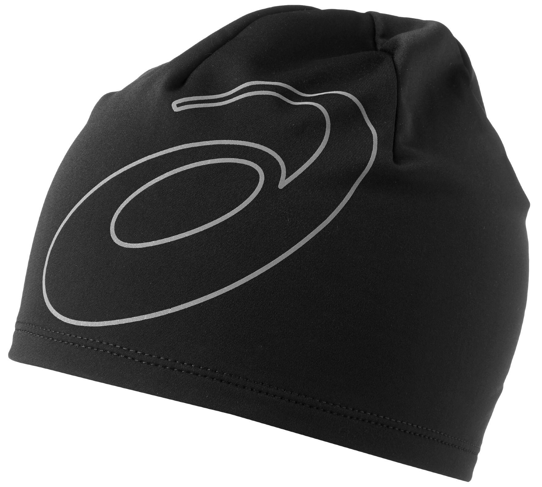 asics logo beanie performance black online bestellen bei